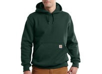 Carhartt 100615-358-2XL Rain Defender Paxton Heavyweight Hooded Sweatshirt 358 - Dark Green Size 2XL