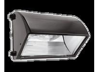RAB WP2CF42/PC WALLPACK 42W CFL QT HPF CUTOFF LAMP + 120V PC BRONZE