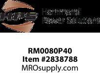 HPS RM0080P40 IREC 80A 0.400MH 60HZ CC Reactors