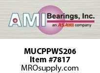 AMI MUCPPWS206 30MM STAINLESS SET SCREW PRESSED ST SETSCRWPRESSED STAINLESS PILLOW BLOCK