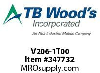 TBWOODS V206-1T00 TOP MOUNT KIT HSV/16