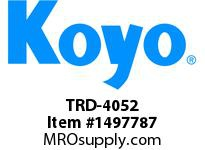 Koyo Bearing TRD-4052 NEEDLE ROLLER BEARING THRUST WASHER