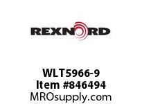 REXNORD WLT5966-9 WLT5966-9 WLT5966 9 INCH WIDE MATTOP CHAIN WI
