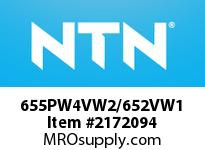 NTN 655PW4VW2/652VW1 Medium Size TRB 101.6<D<=203.2