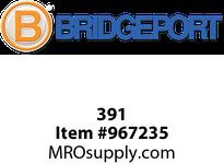"Bridgeport 391 5"" ground bushing insulated"
