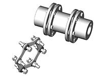 SX110-6 HUB 1-1/4 1/4X1/8KW