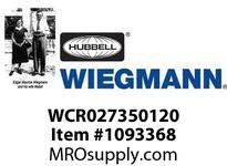 WIEGMANN WCR027350120 HEATERHEAT/FAN CMBO120V350W