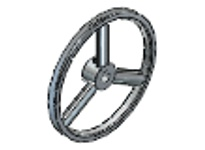 Maska Pulley MFAL54X5/8 (FHP) FIXED BORE SHEAVES PITCH DIAMETER: 4.93 BORE: 5/8 INCH