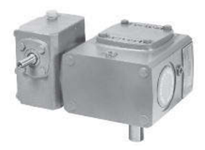 WC713-400-G CENTER DISTANCE: 3.2 INCH RATIO: 400:1 INPUT FLANGE: 56C OUTPUT SHAFT: LEFT SIDE
