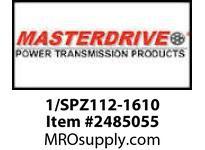 MasterDrive 1/SPZ112-1610 1 GROOVE SPZ SHEAVE