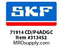 SKF-Bearing 71914 CD/P4ADGC