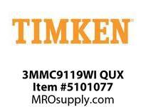 TIMKEN 3MMC9119WI QUX Ball P4S Super Precision