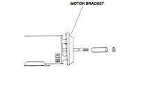 Bell & Gossett P77067 MOTOR BRACKET