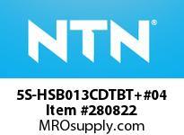 NTN 5S-HSB013CDTBT+#04 PRECISION BALL BRG