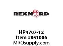 REXNORD HP4707-12 HP4707-12 HP4707 12 INCH WIDE MATTOP CHAIN WI