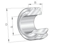 INA GE10PB Elges? spherical plain bearing