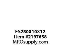 PTI FS280X10X12 FELT STRIP