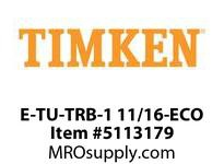 TIMKEN E-TU-TRB-1 11/16-ECO TRB Pillow Block Assembly