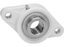 IPTCI Bearing CUCTFL206-19 BORE DIAMETER: 1 3/16 INCH HOUSING: 2-BOLT FLANGE HOUSING MATERIAL: POLYMER