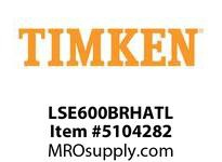 TIMKEN LSE600BRHATL Split CRB Housed Unit Assembly