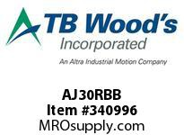 TBWOODS AJ30RBB AJ30 HUB SOLID CL B C