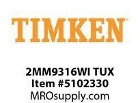 TIMKEN 2MM9316WI TUX Ball P4S Super Precision
