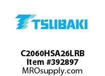 US Tsubaki C2060HSA26LRB C2060H RIV 6L/SA-2