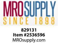 MRO 829131 1 X 3/4 SLIP SC80 PVC REDUCER