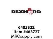 REXNORD 6483522 20-GC5312-02 IDL*35 P/A STL EQ F/S