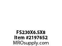 PTI FS230X6.5X8 FELT STRIP