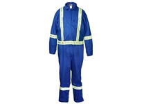 MCR DC4B66T Deluxe FR Insulated Contractor Coverall 100% Cotton Royal Blue