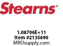 STEARNS 108706200263 BRK-VERT.BELOWHTR 156825
