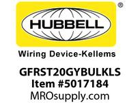 HBL_WDK GFRST20GYBULKLS 20A COM SELF TEST LS GFR GRAY BULK