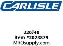Carlisle 220J40 J Bulk Sleeves
