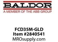 BALDOR FCD35M-GLD DRIP COVER KIT ASSEMBLY - 35FR (GOLD) :