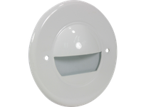 Orbit 7121C-BK STEP LIGHT FACE PLATE -BK