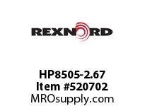 REXNORD HP8505-2.67 HP8505-2.66 143534