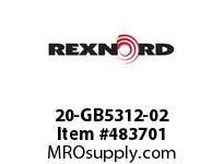 REXNORD 6480855 20-GB5312-02 IDL*35 P/A STL EQ F/S