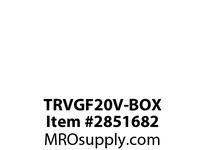 CPR-WDK TRVGF20V-BOX GFCI TR Deco Duplex 20A 125V IV