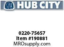 HUBCITY 0220-75657 SS181 60/1 A WR SS WORM GEAR DRIVE