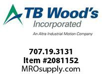 TBWOODS 707.19.3131 MULTI-BEAM 19 3/8 --3/8