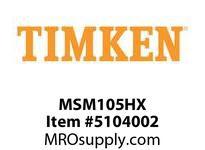 TIMKEN MSM105HX Split CRB Housed Unit Component
