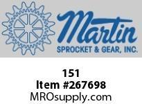 Martin Sprocket 151 TRAYMETALSKT16X2X2