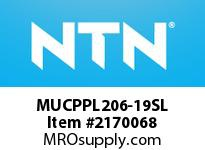 NTN MUCPPL206-19SL Mounted Units (Plastic)