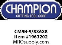 Champion CM9B-5/8X6X8 BULK SDS PLUS BITS (25)