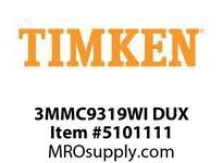 TIMKEN 3MMC9319WI DUX Ball P4S Super Precision