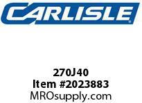 Carlisle 270J40 J Bulk Sleeves