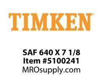 TIMKEN SAF 640 X 7 1/8 SRB Pillow Block Housing Only