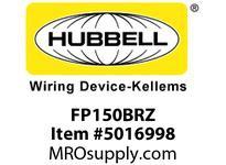 HBL_WDK FP150BRZ 1-1/2^ FF PLUG BRONZE