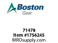Boston Gear 71478 AXF-G 1/2 HP AIR MTR ASSY